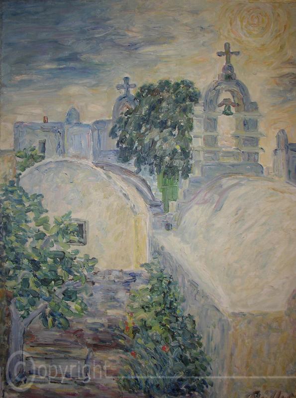 Kirche auf Mykonos 1953