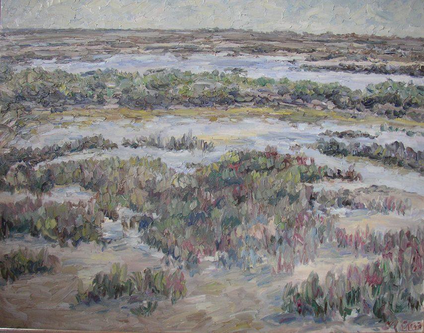 Landschaft Camague 1959