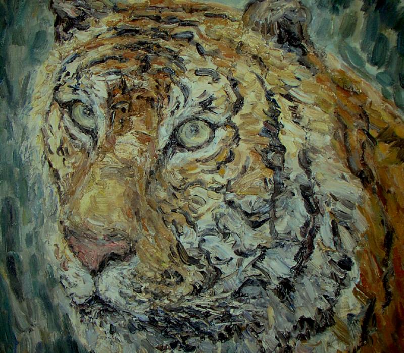 Tigerportrait 1987