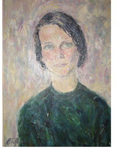 Eva eine Freundin in Soest 1962